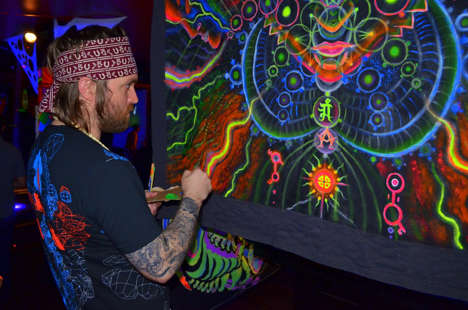 Psychedelic Spirit Paintings Alex Grey Art Gallery: The Gallery For --> Alex Grey Dmt Tattoo