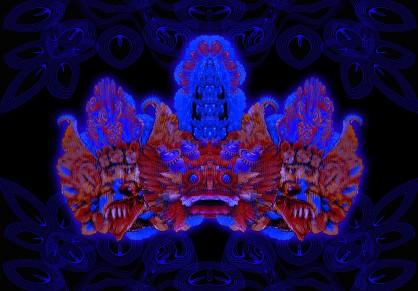 garuda crown artwork by jamie macpherson 2012