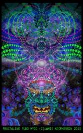 fractal fudo art by jamie macpherson 2012